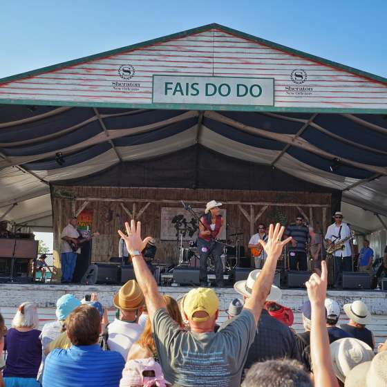 Rockin Dopsie & The Zydeco Twisters - Sheraton New Orleans Fais Do Do Stage - New Orleans Jazz & Heritage Festival 2015