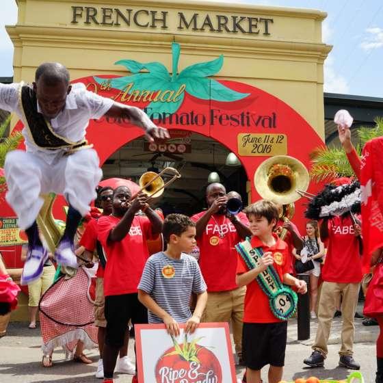Creole Tomato Fest 2016
