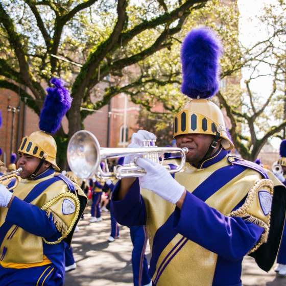 Krewe of Femme Fatale- St. Augustine Marching Band
