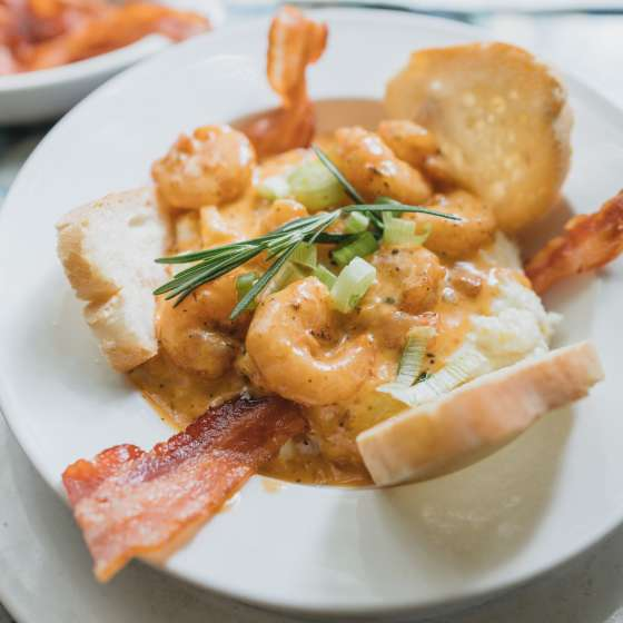 Shrimp and Grits - Surrey's