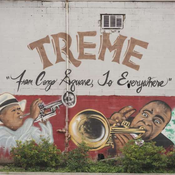 Treme Mural - Carver Theater