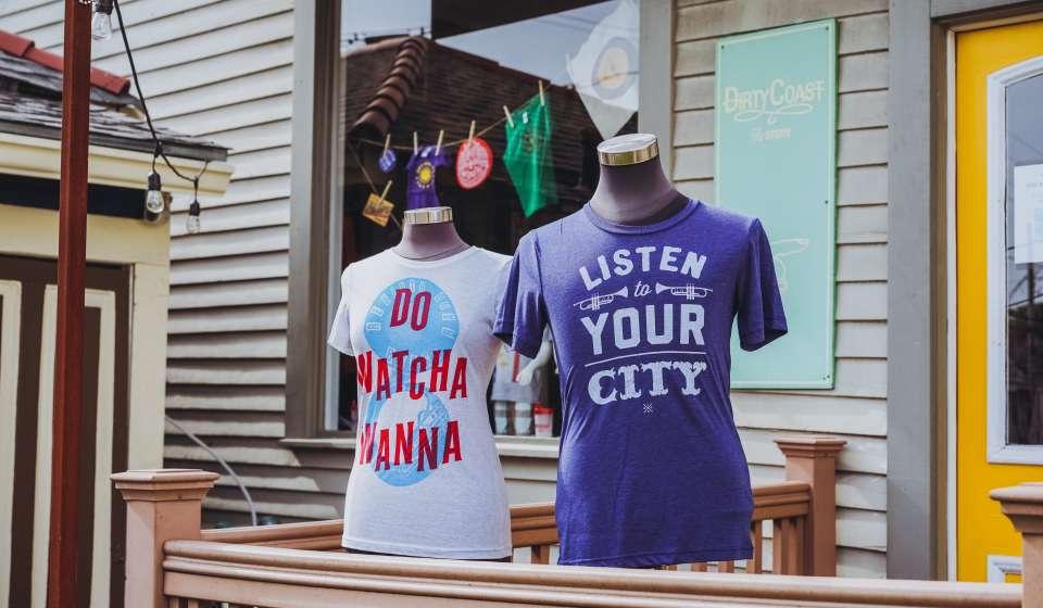 Dirty Coast Clothing - Magazine Street