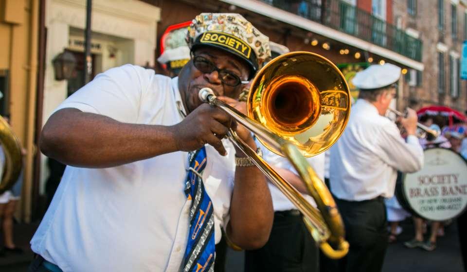 French Quarter Festival- Second Line Parade
