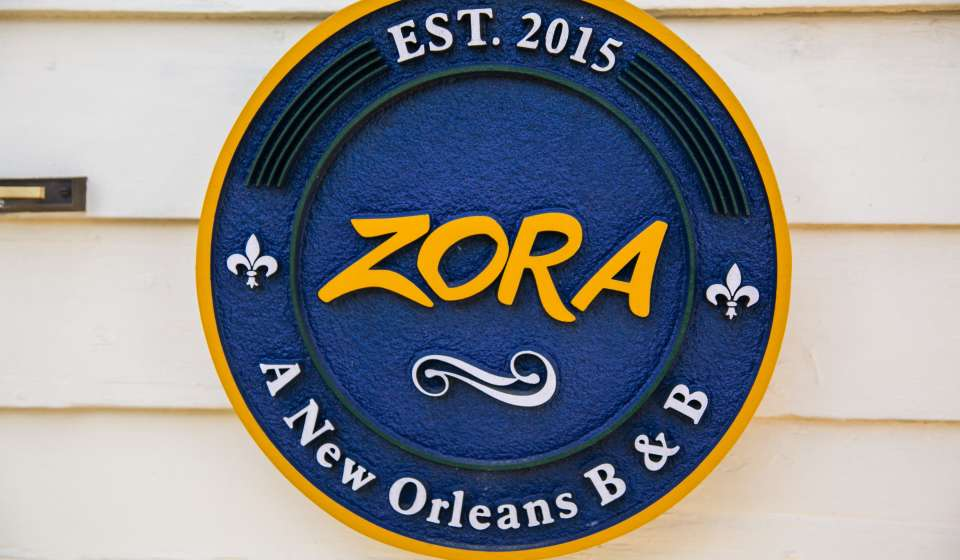 Zora Bed and Breakfast- Algiers Point