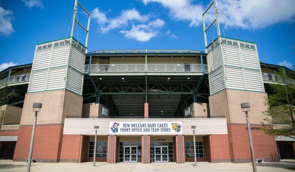 New Orleans Baby Cakes- Baseball Stadium