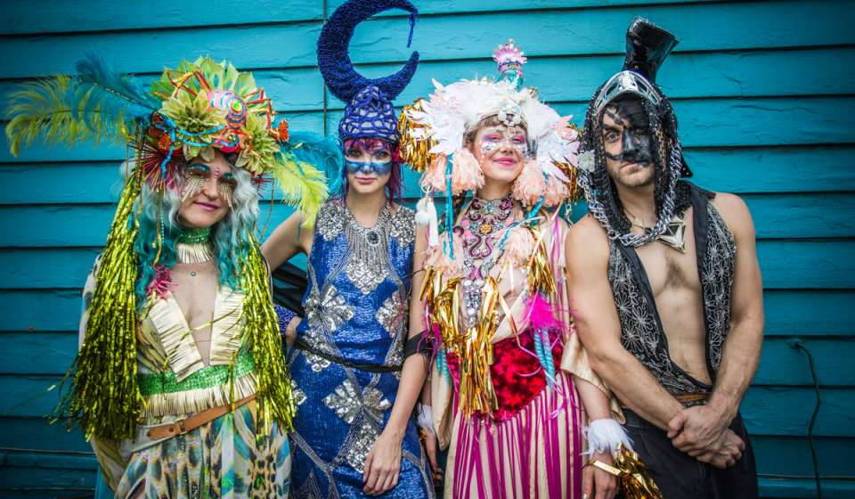 Costuming in New Orleans