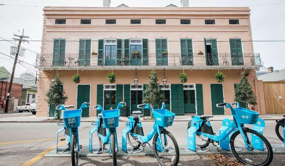 NOLA Blue Bikes