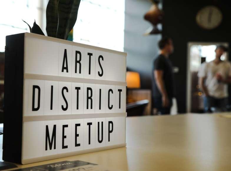 Arts District Meetup