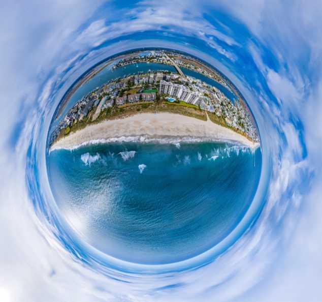 SkyNAV Wrightsville Beach Planet