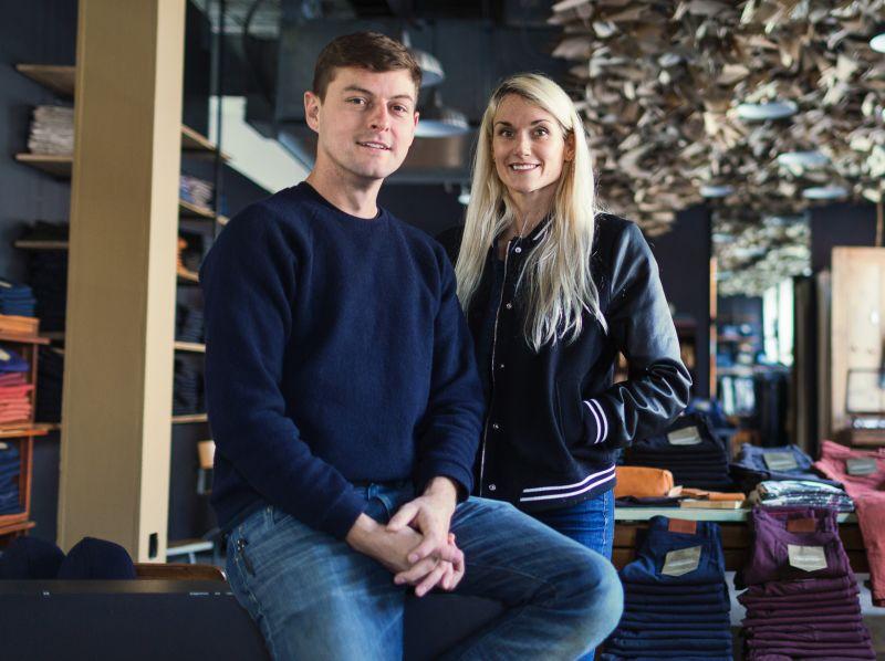 Victor Lytvinenko and Sarah Yarborough