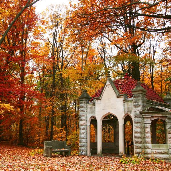 Indiana University Rose Well House