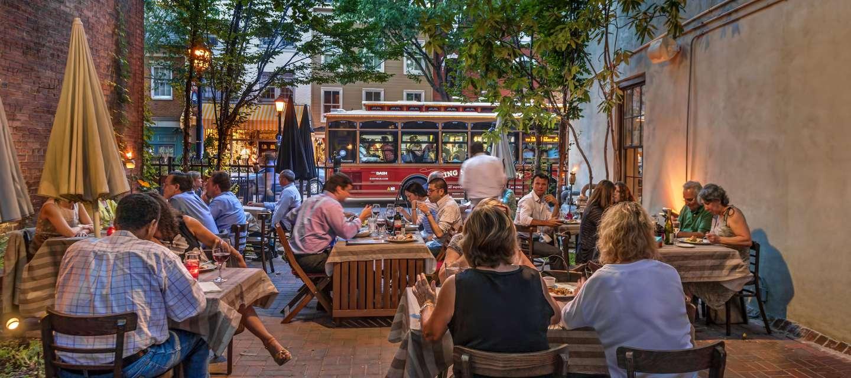 Alexandria Outdoor Restaurants Patios Amp Waterfront