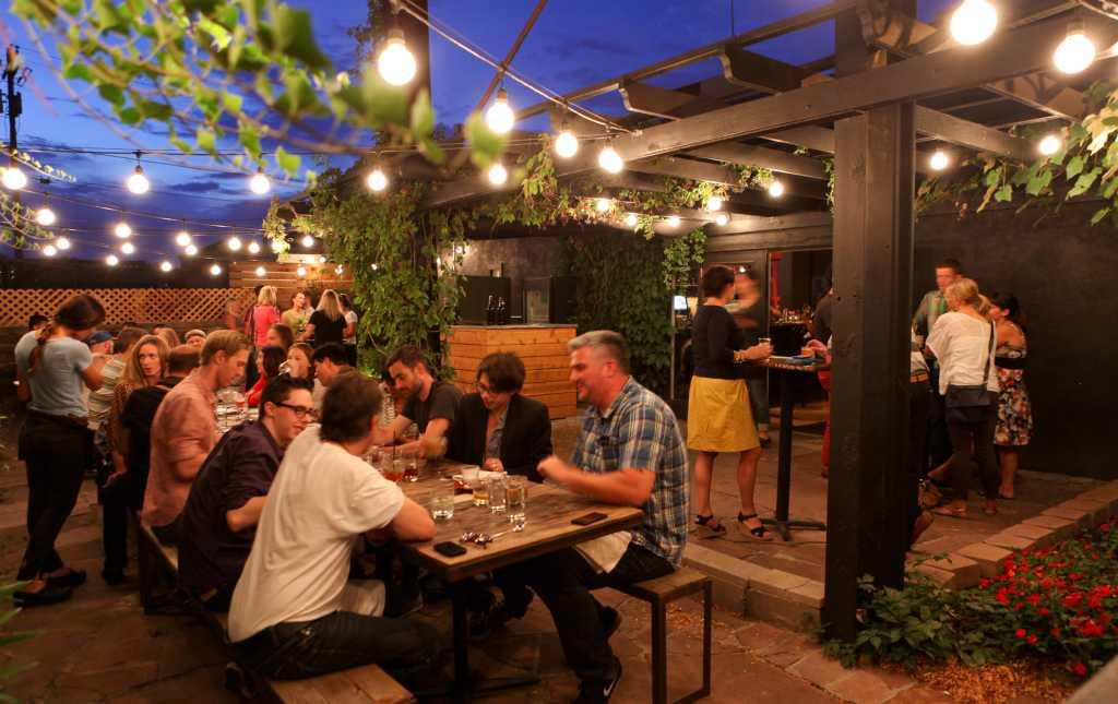 Best Outdoor Dining In Denver VISIT DENVER - Outdoor communal table