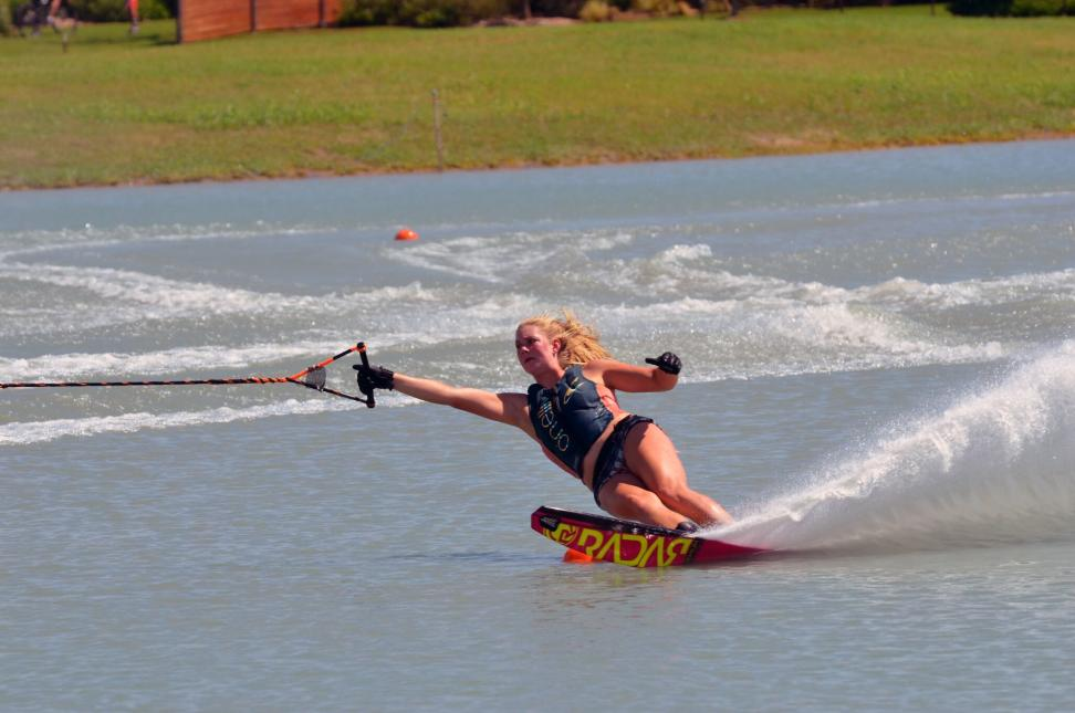 Abbi Grathwohl Water Ski Champion