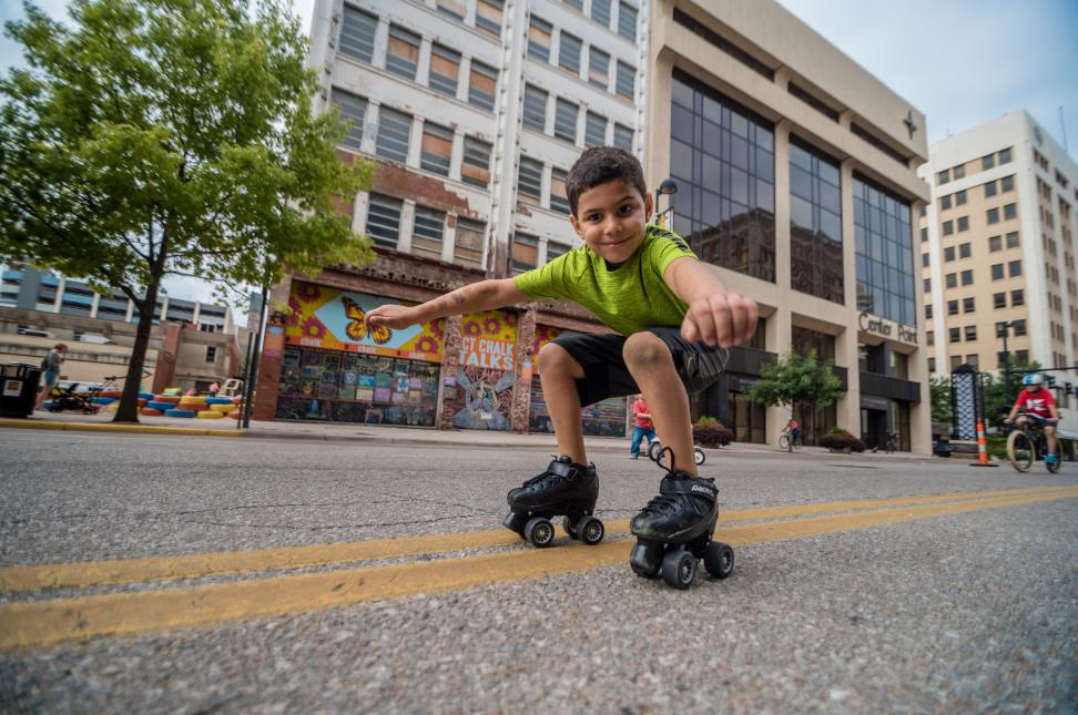 Open Streets ICT - Rollerblade Kid