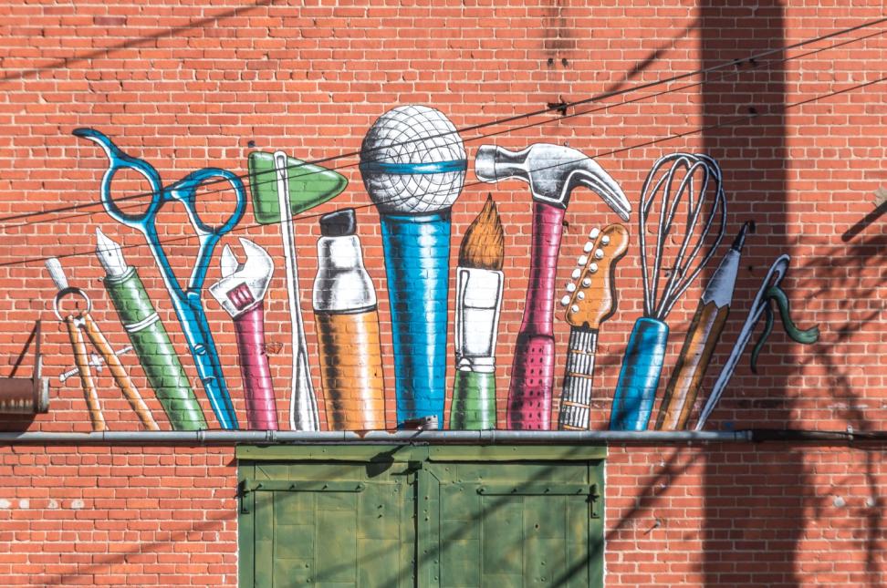 Tools Mural