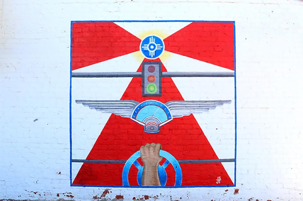 Flag Flight Mural