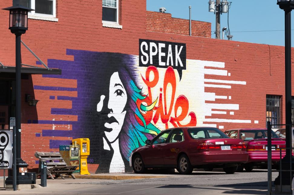 Speak Life Mural