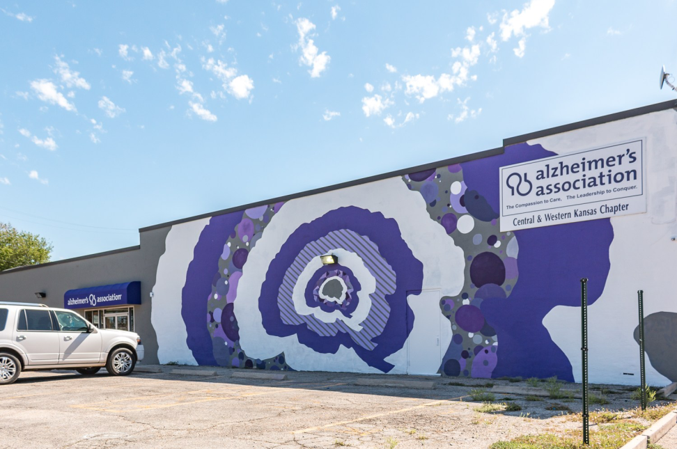 Alzheimers Mural