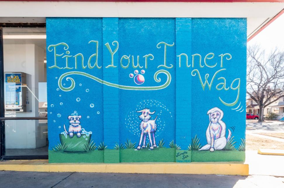 Dog Mural
