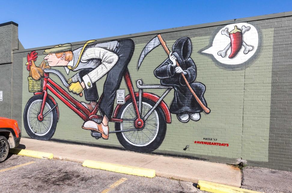 Reaper Mural