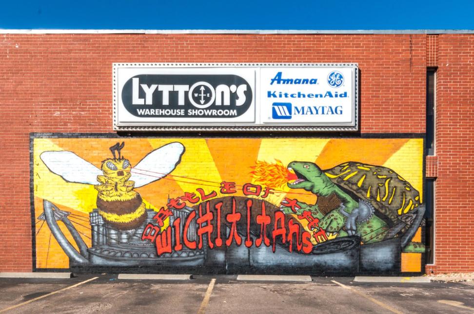 WichitaTitan Mural