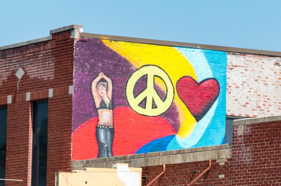 PeaceLoveArt Mural