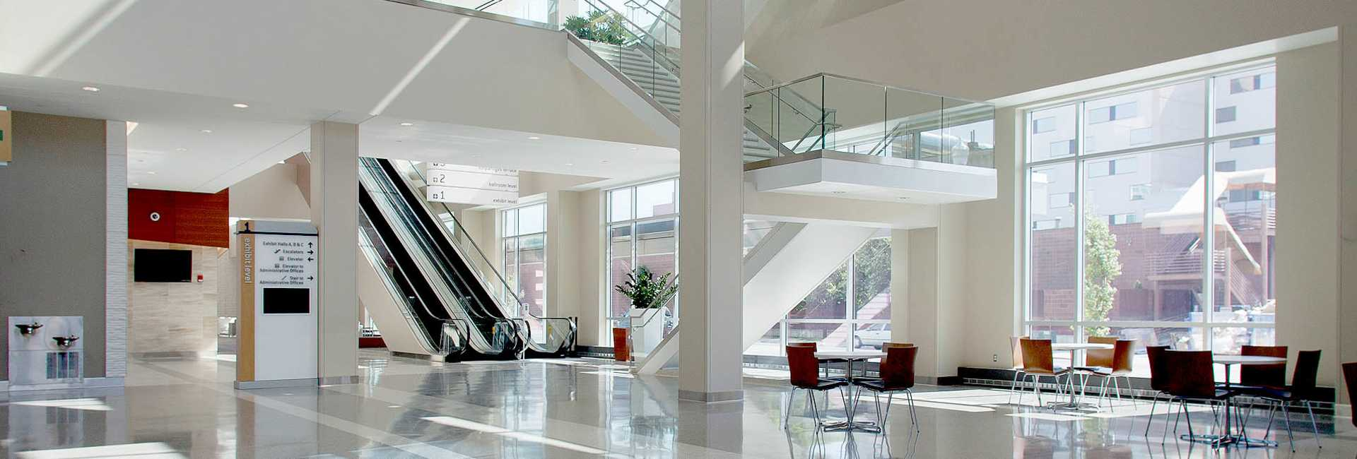 Utah Valley Convention Center lobby