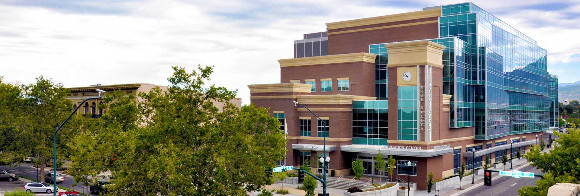 Utah Valley Convention Center exterior