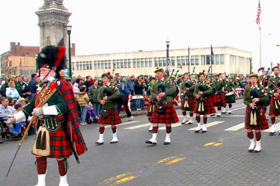 Syracuse St. Patrick's Day Parade - Photo by James Cahill