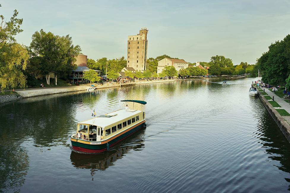 Erie Canal - Photo by NYS ESD