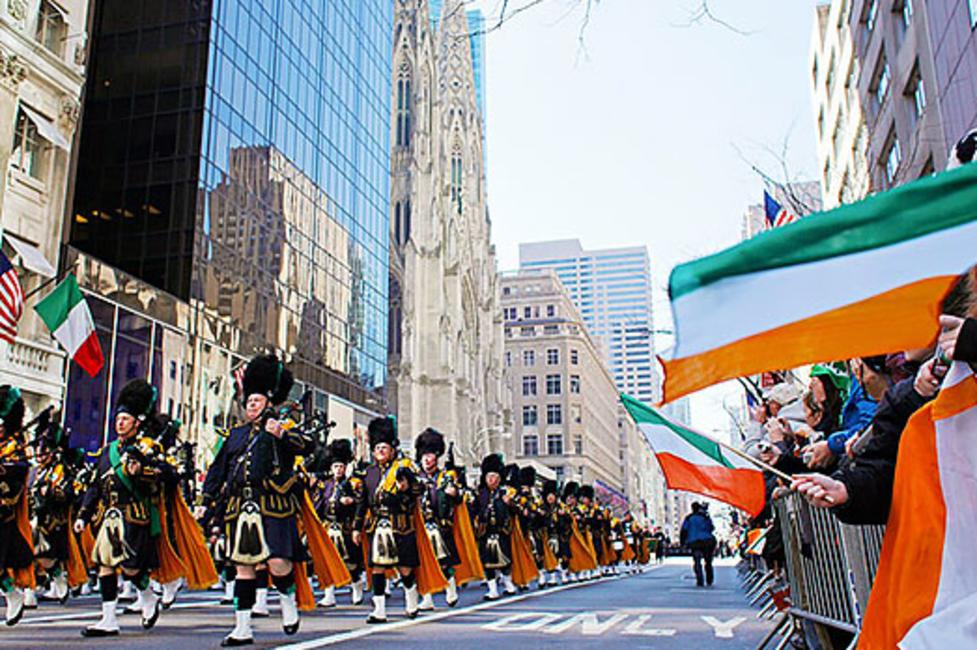 St Patricks Day Parade Buffalo - Photo by Joe Buglewicz