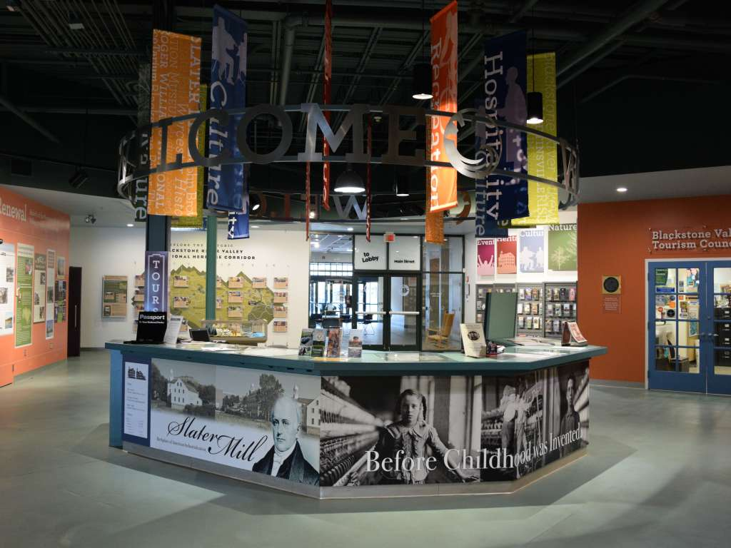 Blackstone Valley Visitor Center-Pawtucket-Blackstone Valley