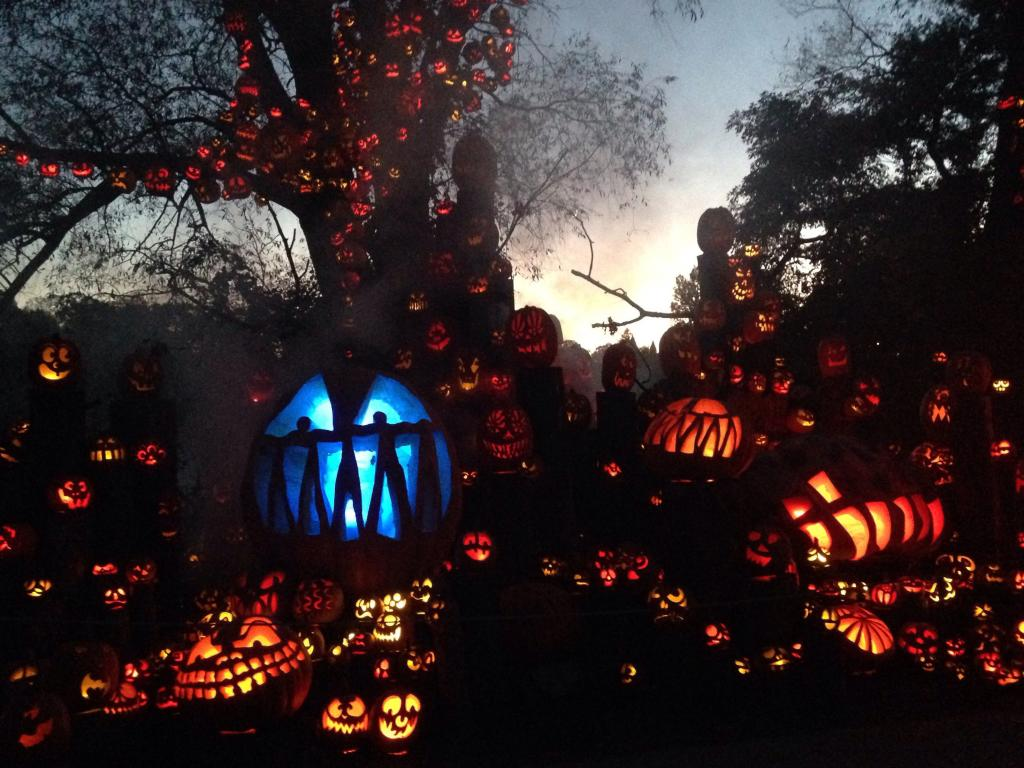 the jack-o-lantern spectacular at roger williams park zoo