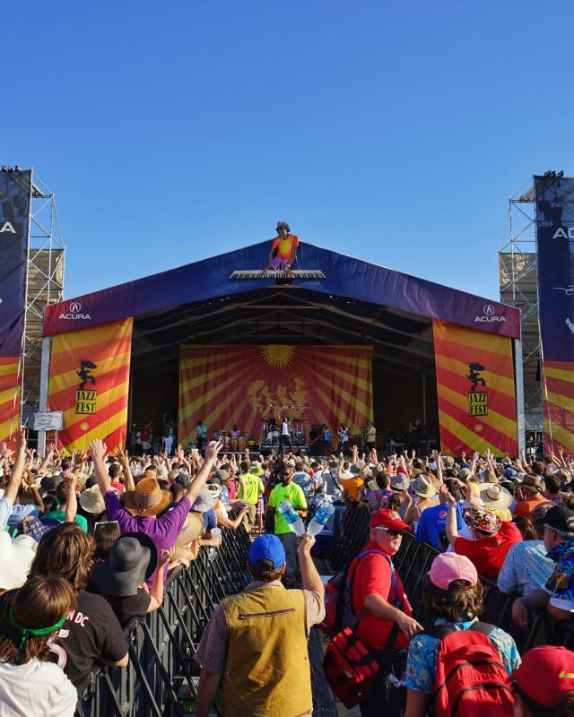 Trombone Shorty and Orleans Avenue - Acura Stage - New Orleans Jazz & Heritage Festival 2015