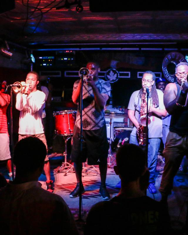 Rebirth Brass Band at Maple Leaf Bar