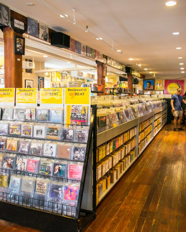 Louisiana Music Factory- Records Store