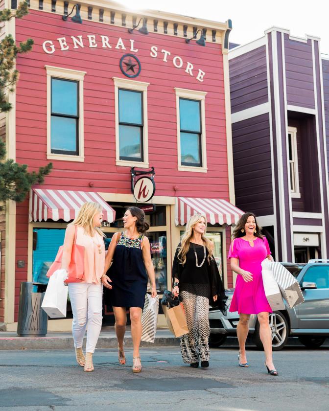 Shopping on Historic Main Street