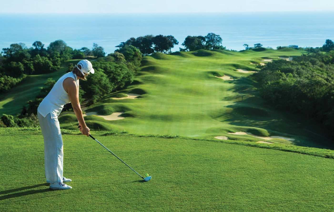 Golf Header Video