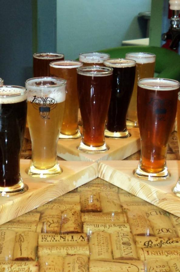 Try a flight to find your favorite at the Kozy Yak Brewery & Winery in downtown Rosholt.