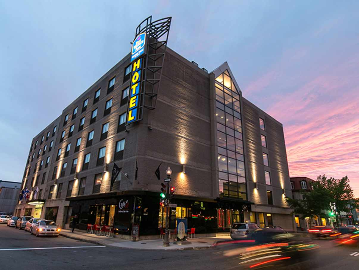 Best Western Plus Centre Ville Bistro Le 330 Restaurants