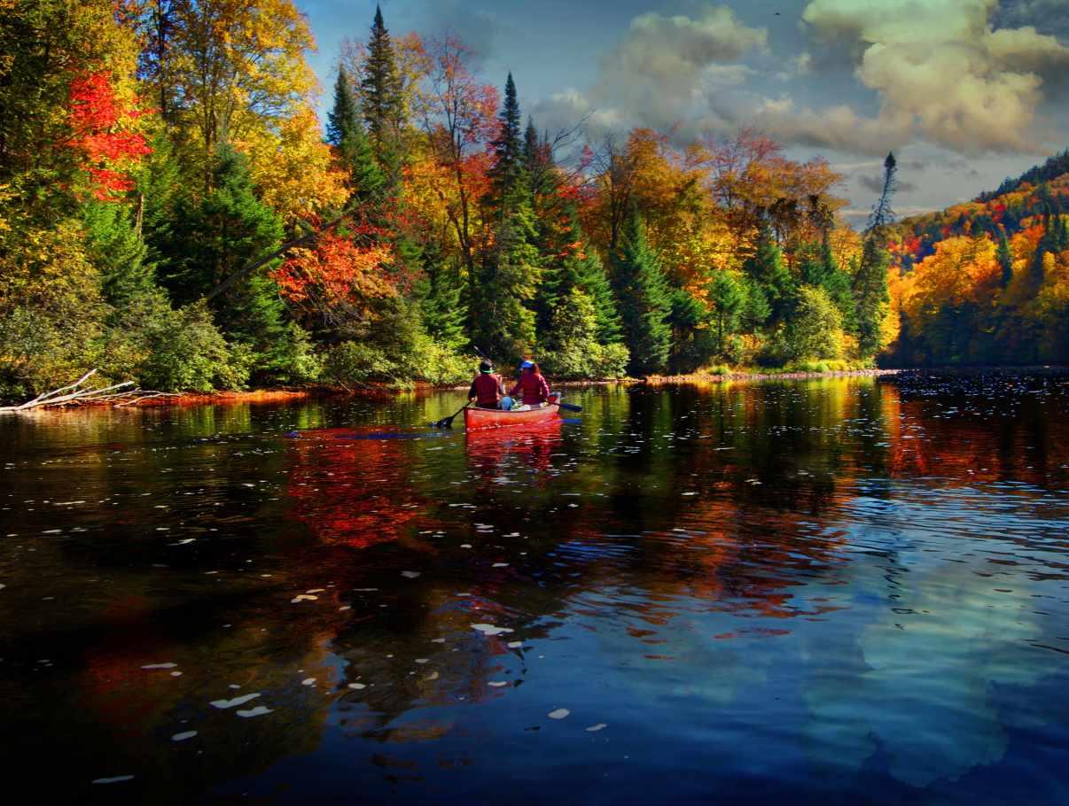 Image result for Vallee Bras-du-Nord  autumn