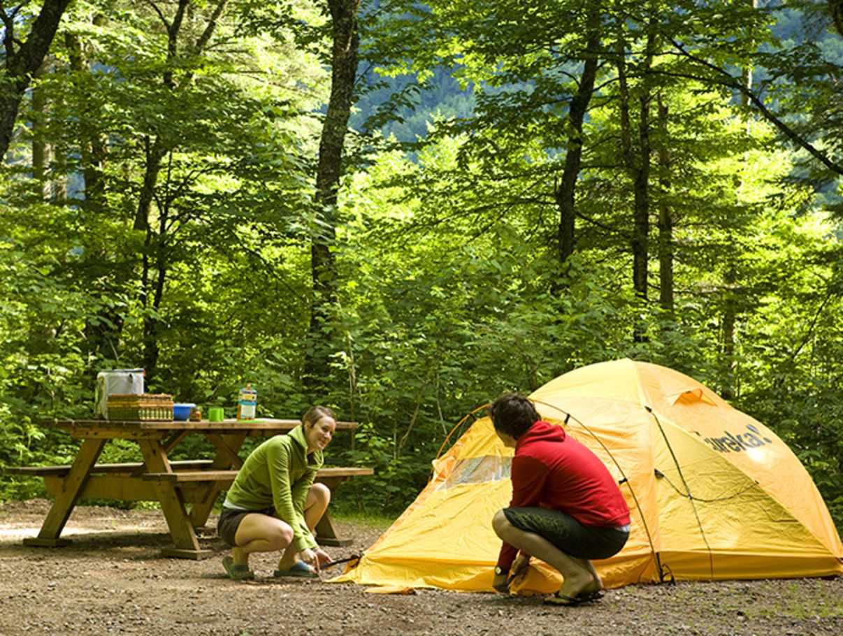 Camping parc national de la jacques cartier les alluvions campgrounds quebec city and area - Camping les jardins de l atlantique ...