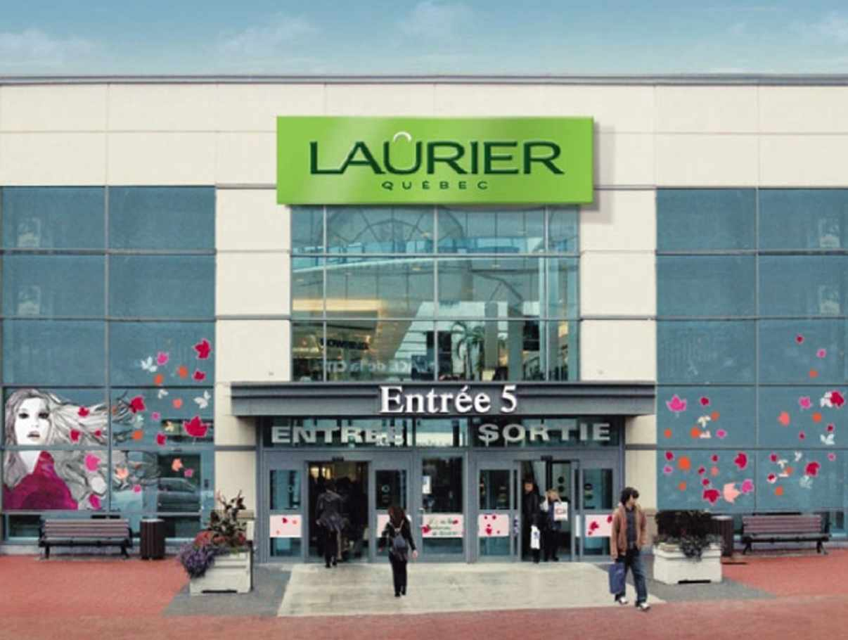 Laurier québec shopping centres quebec city and area