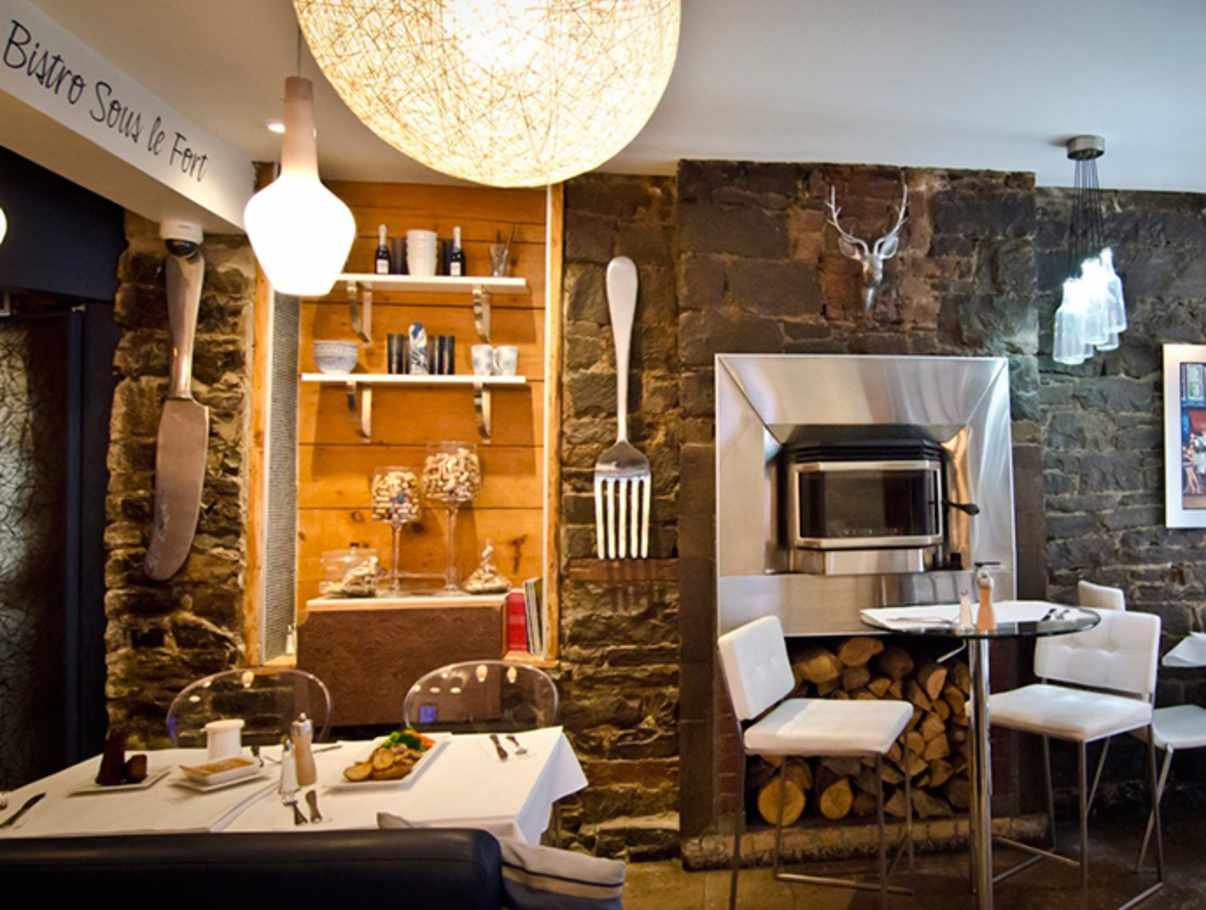 Le Champlain Restaurant Quebec City Menu