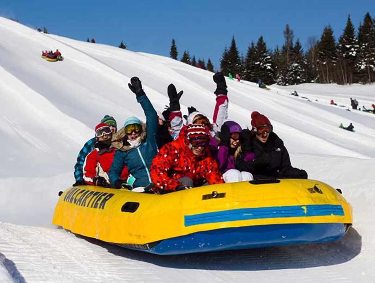 parc attraction quebec hiver