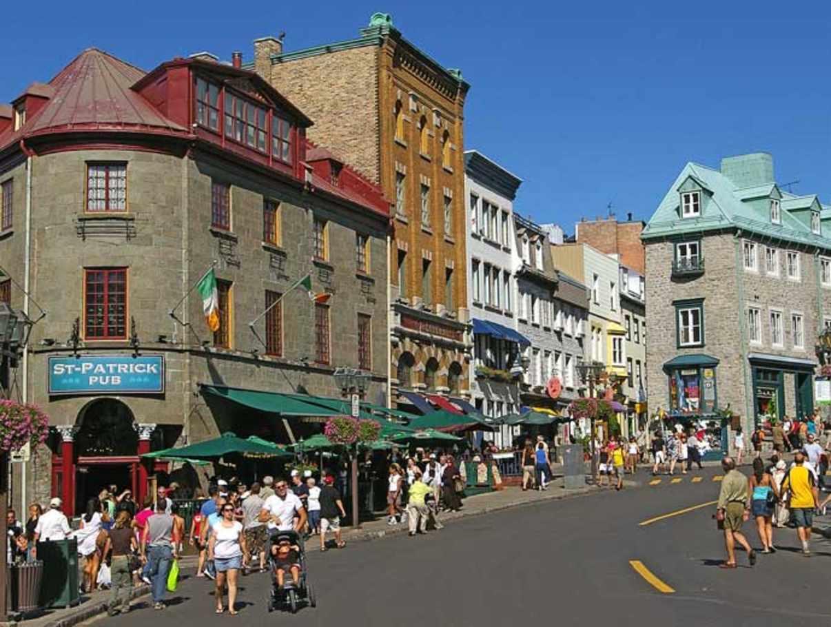 St Roch Restaurants Quebec City
