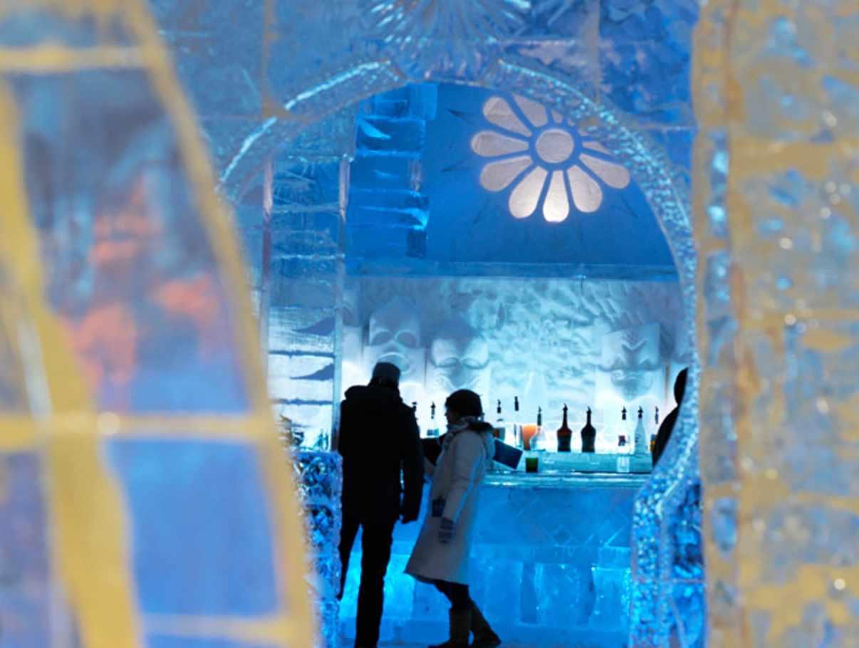 H Tel De Glace Tourist Sites Quebec City And Area