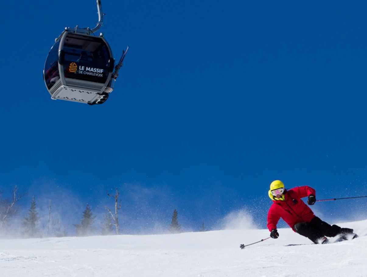 le massif de charlevoix ski resort