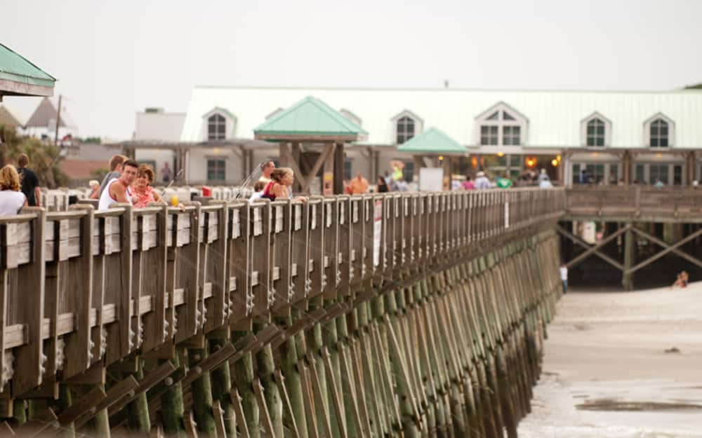 Folly Beach Pier - Bring Your Group or Tour | Charleston Area CVB